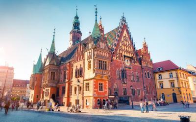 Vroclavas   Town Hall