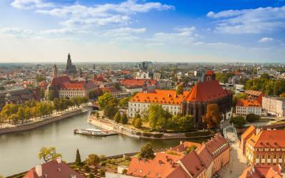Vroclavas city