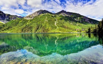Morskie Oko ežeras