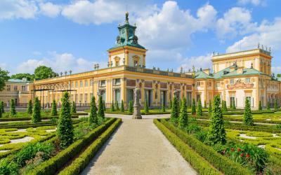 Varsuva   The royal Wilanow Palace