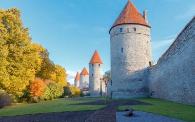 Talino akmeninis viduramžių bokštas