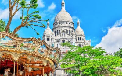 Paryzius   Montmartre Hill