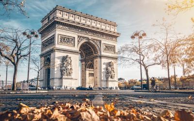 Paryzius   Arc de Triomphe