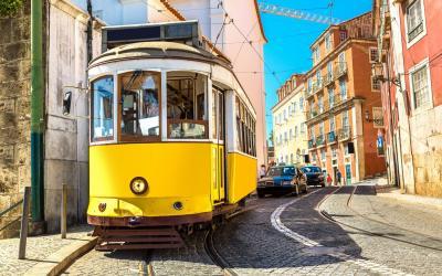 Lisabona Vintage tram