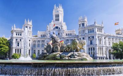 Madridas Cibeles fountain
