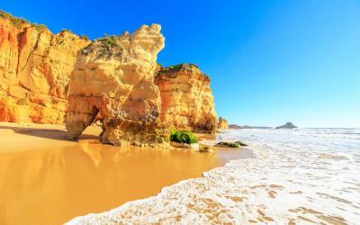 Algarve   Praia da Rocha in Portimao