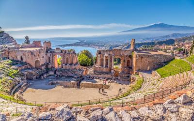 Sicilija   Ancient Greek Theater in Taormina