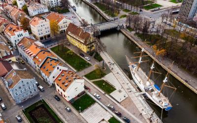 Klaipėdos stogai
