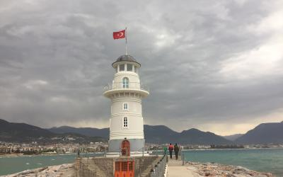 Turkija. Alanija. Švyturys