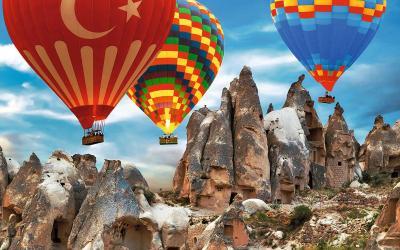 Turkija. Kapadokija. Oro balionai - ekskursija