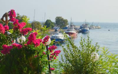 Bulgaria. Nessebar port