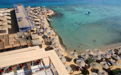 egiptas-hurgada-King-tut-aqua-park-beach-resort-beach