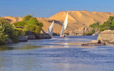 Egiptas. Nilas