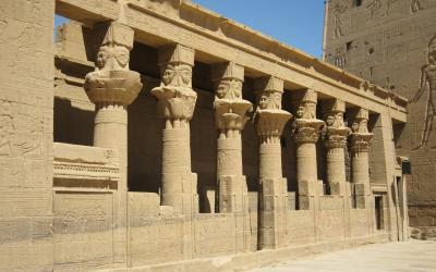 Egiptas. Asvanas. Horo šventykla