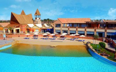 Egiptas-hurgada-jungle aqua park-beach