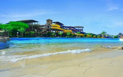 Egiptas-hurgada-jungle aqua park-beach2