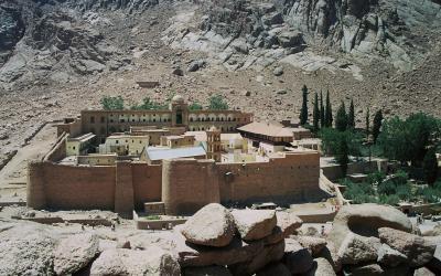 Egypt. St Catherines monastery
