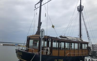 Burinis laivas-jachta