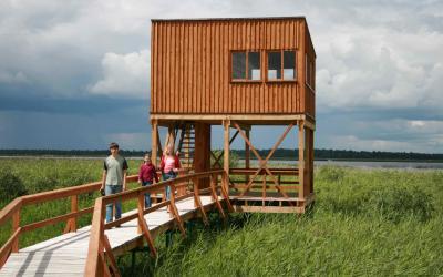 Paukščių stebėjimo bokštelis Žuvinto biosferos rezervate