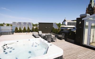 VIP jacuzzi ant stogo