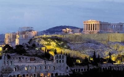 Graikija. Atėnai. Akropolis