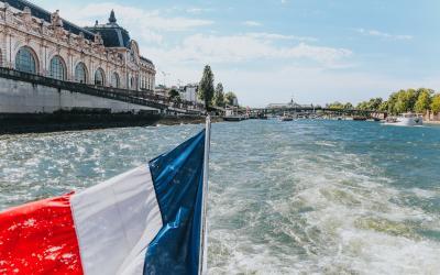 Prancūzija. Paryžius. Plaukimas Senos upe