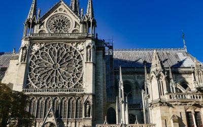 Prancūzija. Paryžius Notre Dame
