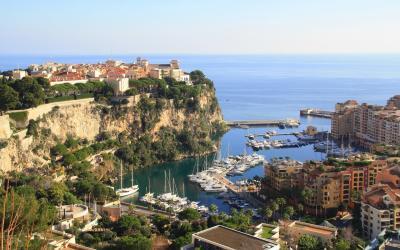 pažintinė lėktuvu - žydroji pakrantė - Monako