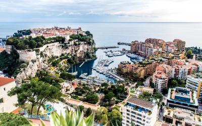 pažintinė lėktuvu - žydroji pakrantė - Monakas