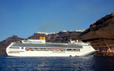 Graikija. Santorinio sala. Kruizas