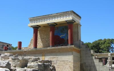 Graikija. Kreta. Heraklionas. Knoso rūmai