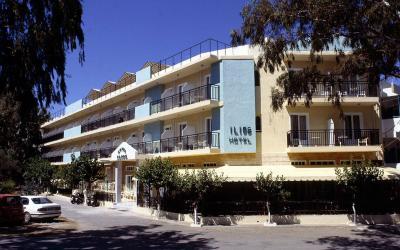 Graikija. Kreta. Ilios Hotel.View