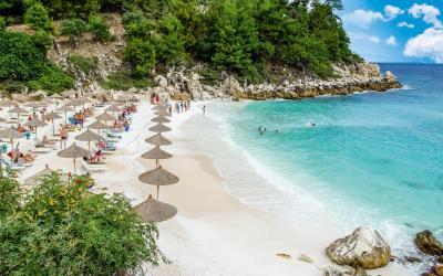 Graikija. Taso sala. Paplūdimys
