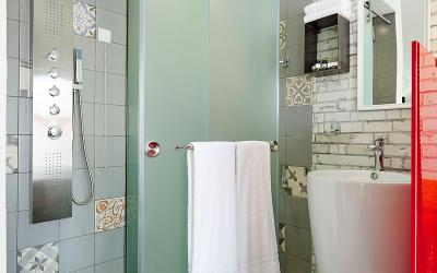 Graikija. Taso sala. La Boheme Luxurious.Vonios kambarys