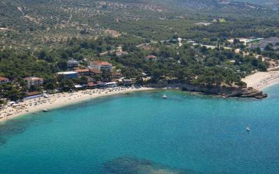 Graikija. Taso sala. Thassos hotel. Paplūdimys