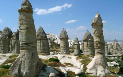 Turkija. Kapadokija. Gioremė slėnis