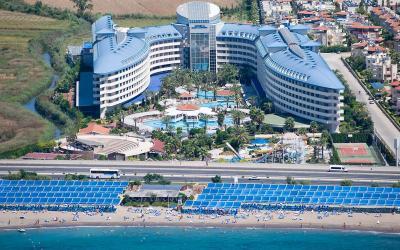 Turkija. Sidė. Crystal Admiral Resort and SPA.