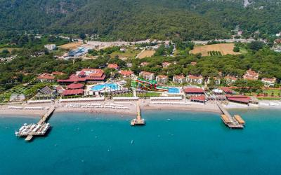 Turkija. Kemeras. Crystal Flora Beach Resort