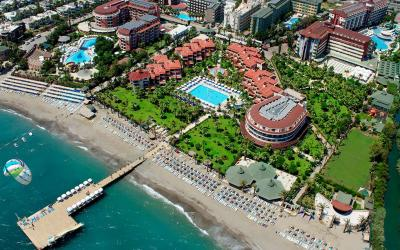 Turkija. Alanija. Saphir Hotel