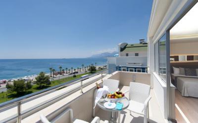 Turkija. Antalija. Sealife Family Resort