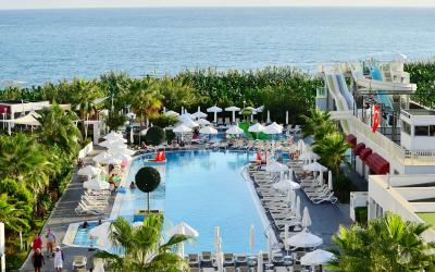 Turkija. Alanija. White City Resort