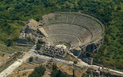 Turkija. Efesas. Amfiteatras