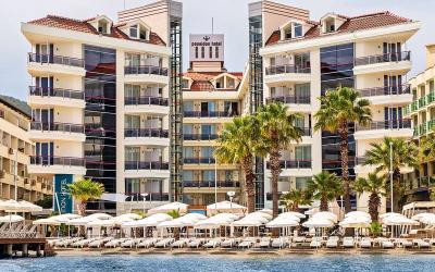 Turkija. Marmaris. Poseidon Hotel