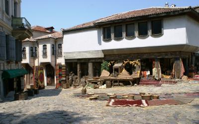 Bulgarija-Plodvido senamiestis