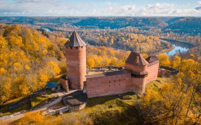 shutterstock 1Sigulda   Turaida castle