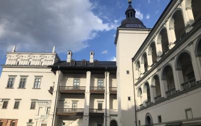 Valdovų rūmų kiemas