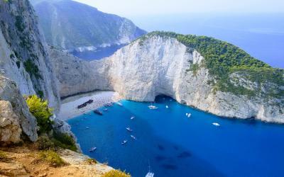 Graikija. Zakintos sala
