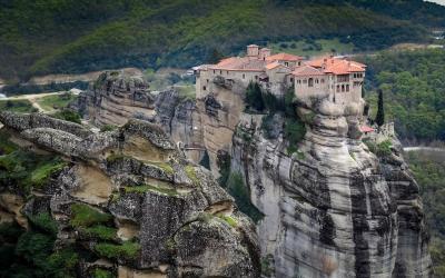 Graikija. Meteora