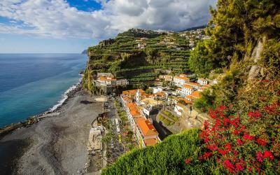 Portugalija.Madeiros sala.Ponta do Sol