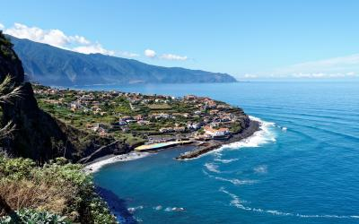 Portugalija. Madeiros sala